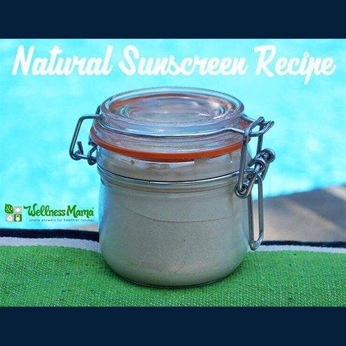 Dr Della Parker_DIY_How to make natural homemade sunscreen
