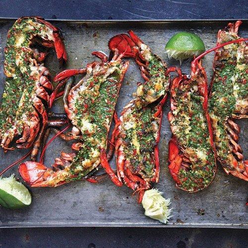 Dr Della Parker_Grilled lobster recipe