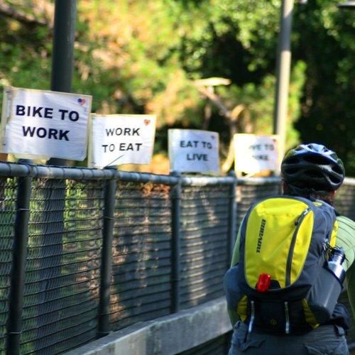 Dr Della Parker_National Bike To Work Day-2