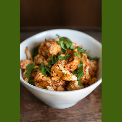 Dr Della Parker_Roasted Spicy Cauliflower Recipe