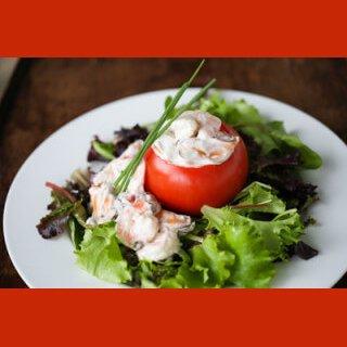Dr Della Parker_Recipe_Shrimp and Mussel Stuffed Tomatoes