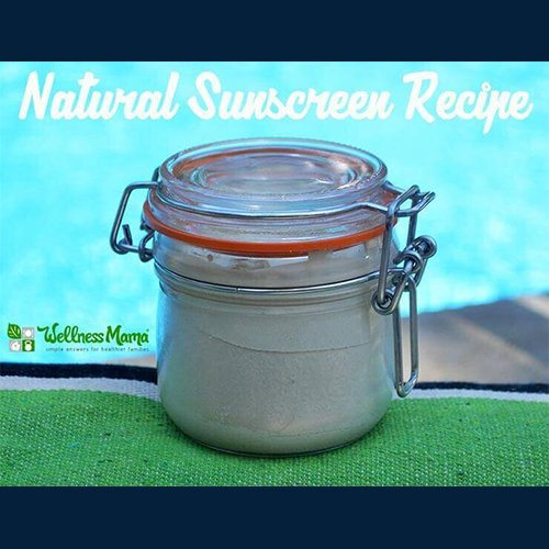 Dr Della Parker_DIY_How to make natural homemade sunscreen