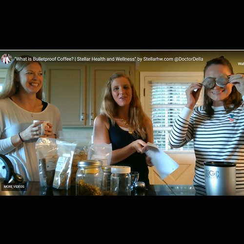 Dr Della Parker_What is Bulletproof Coffee